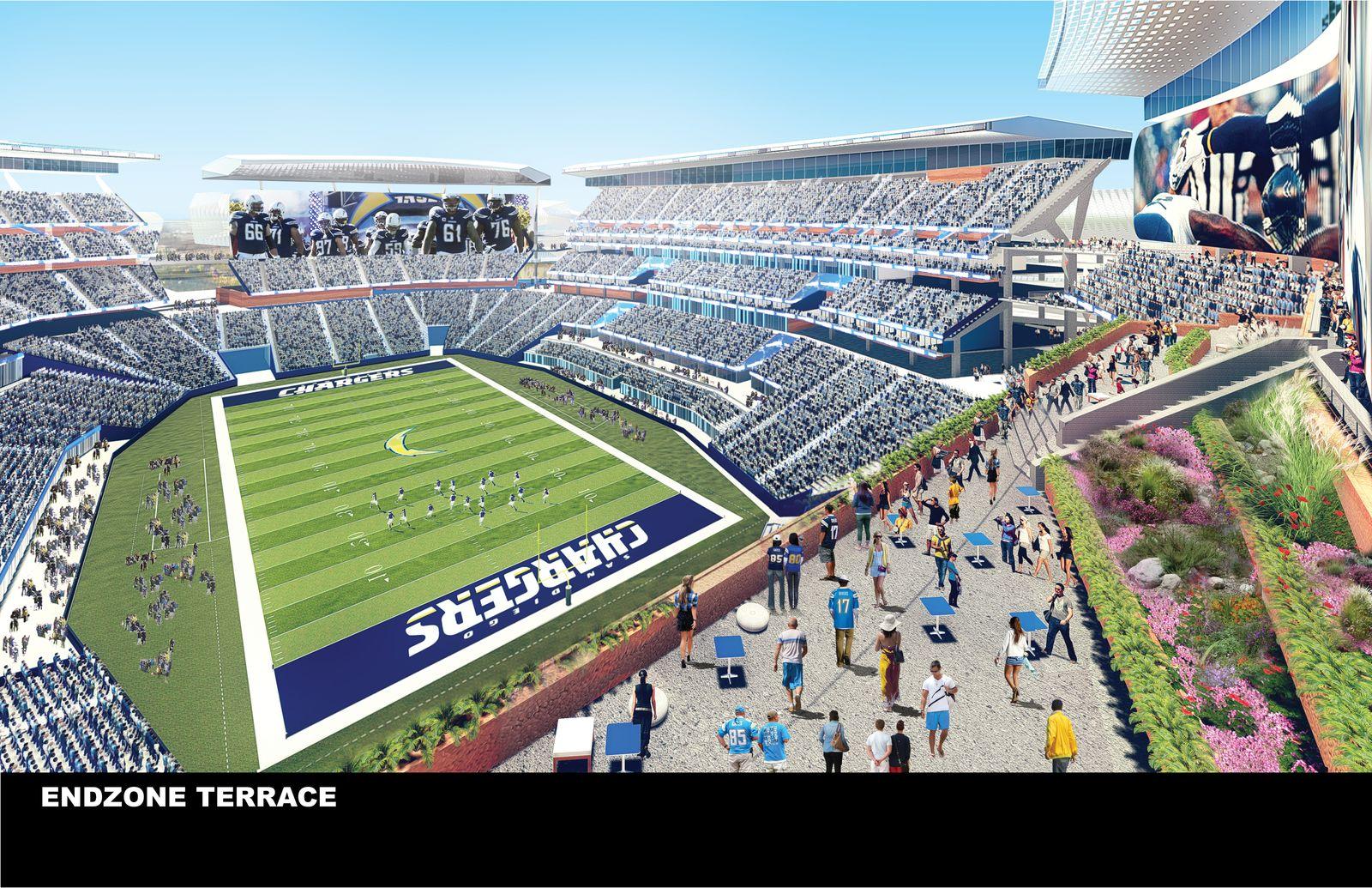 Design New Chargers Stadium Stadiumdb Com