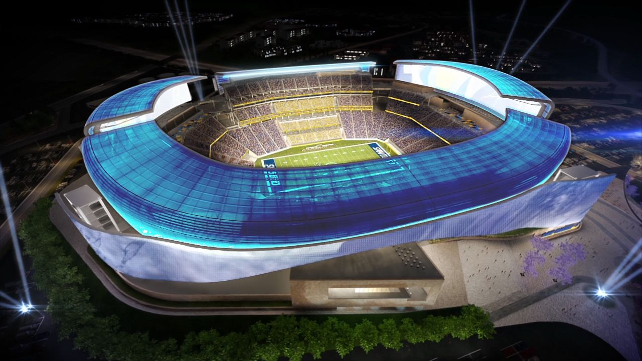 New Chargers Stadium Design