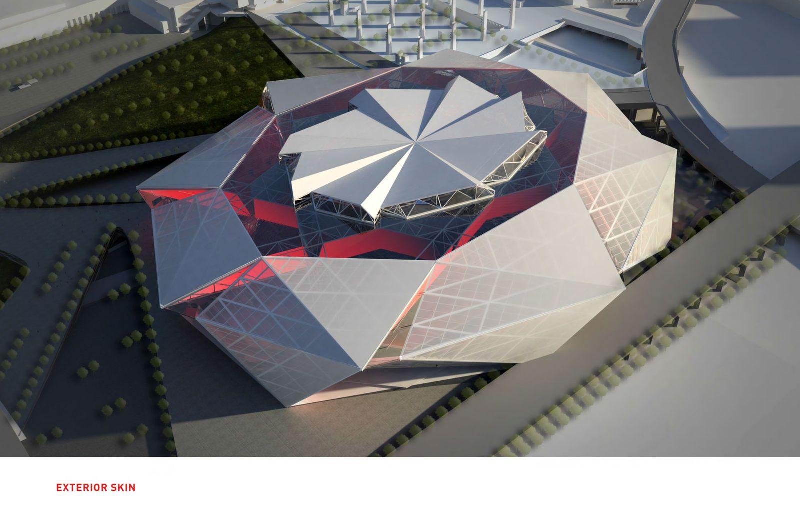 ... GWCC · Mercedes-Benz Stadium