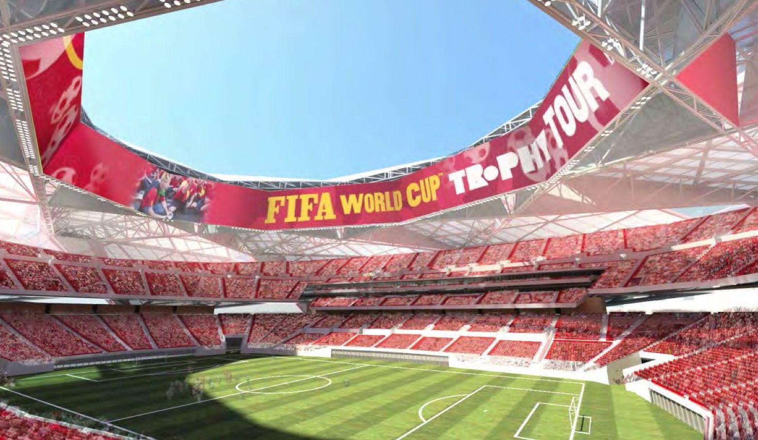 Washington NFL stadium designed by Bjarke Ingels