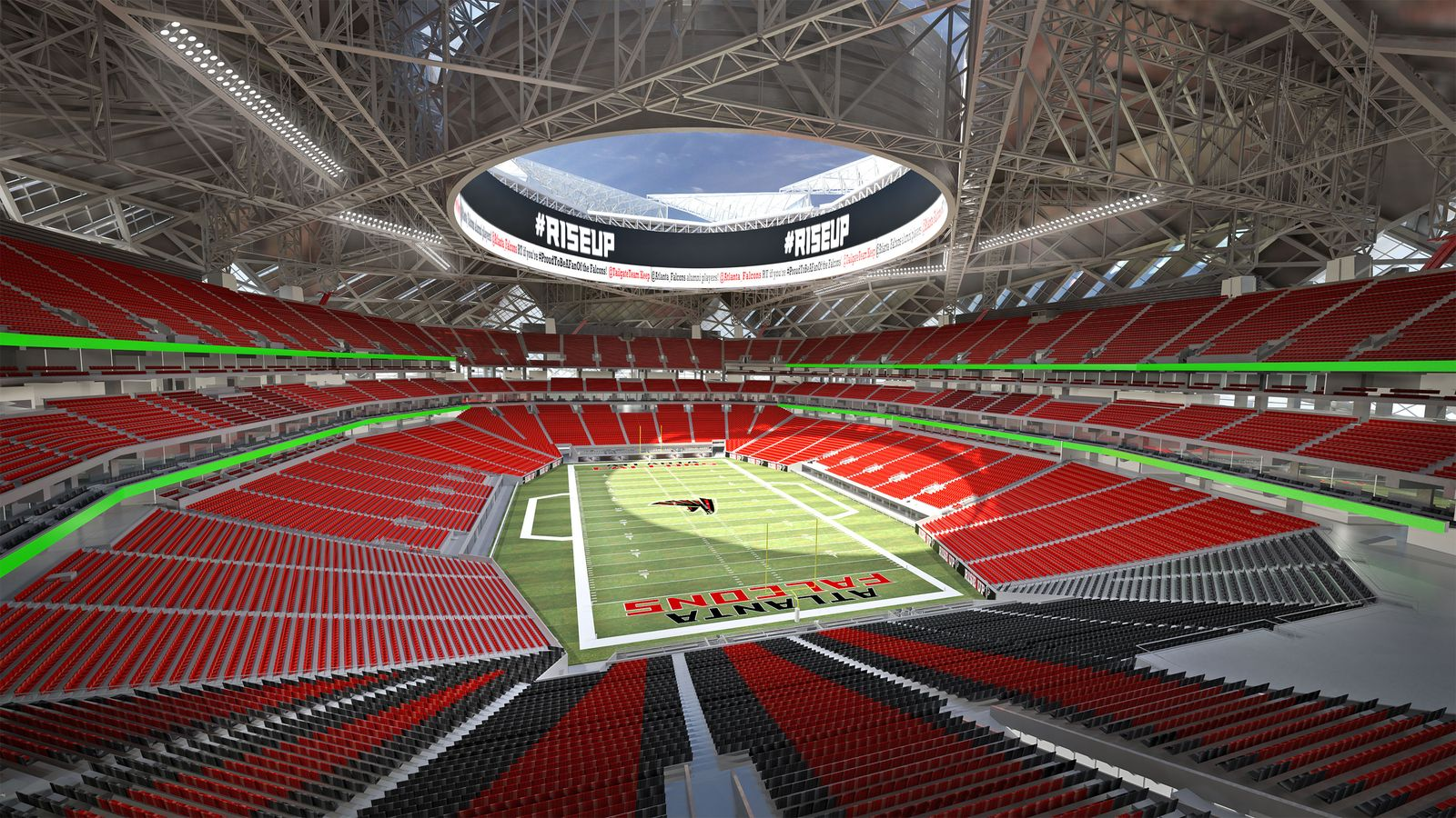 Design mercedes benz stadium for Atlanta ga mercedes benz stadium