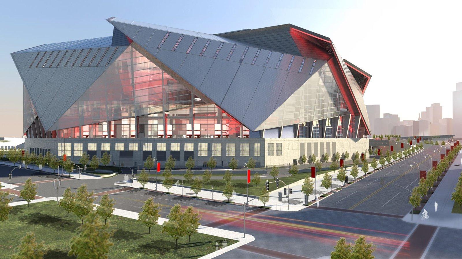Design Mercedes Benz Stadium Stadiumdb Com