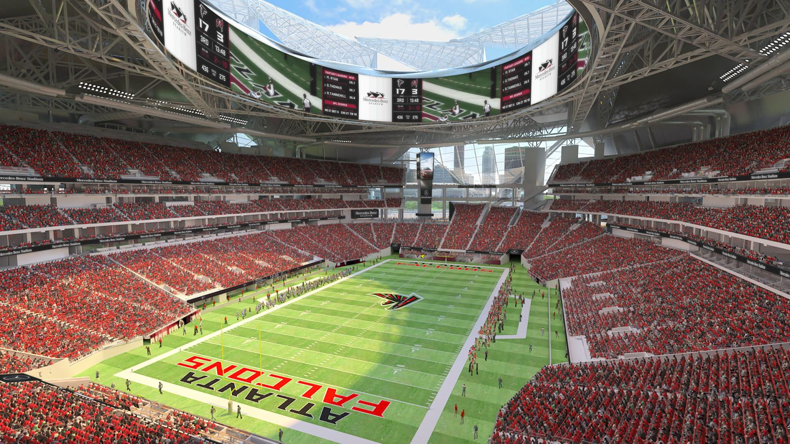 design mercedes benz stadium