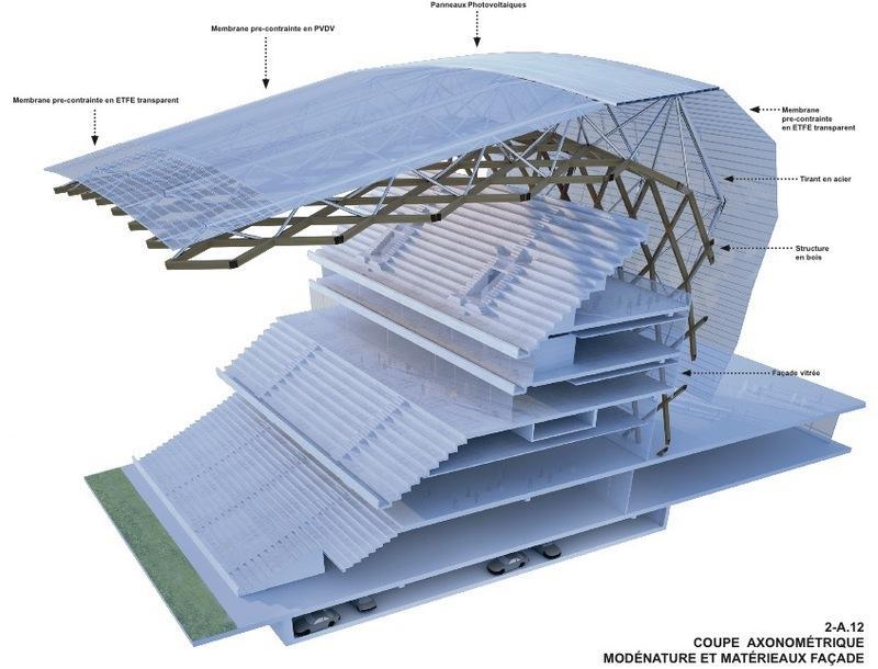 Design allianz riviera - Wilmotte design ...