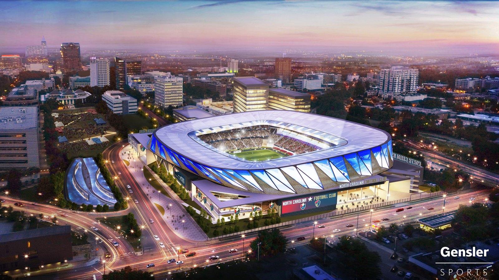 Design North Carolina Fc Stadium Stadiumdb Com