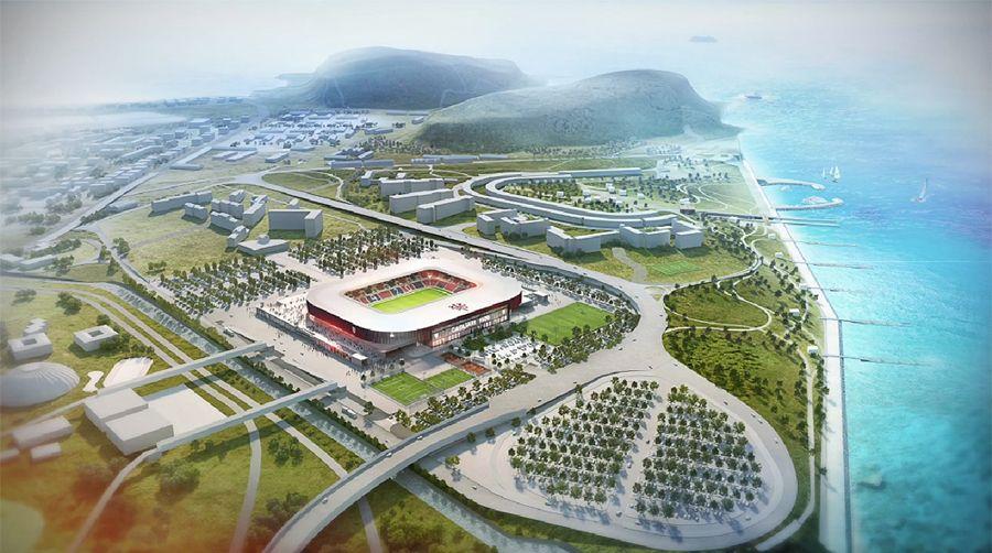 Design: Nuovo Stadio Cagliari – StadiumDB.com