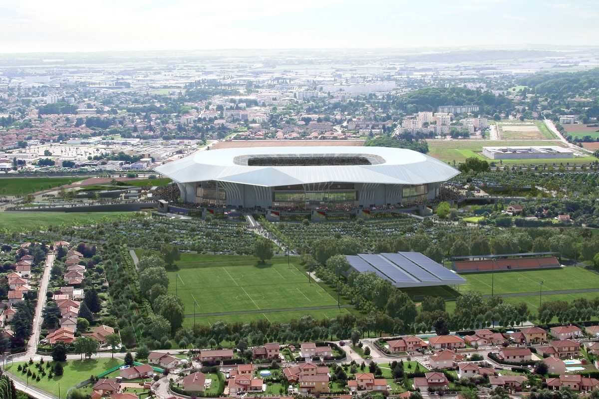 stade des lumieres inauguration
