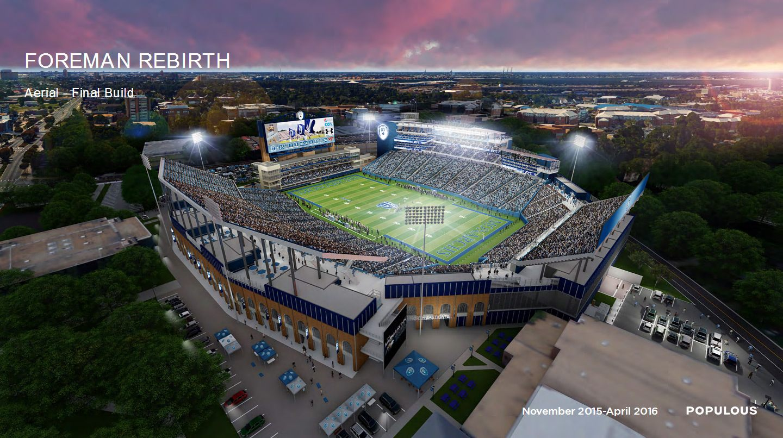 Design: ODU Stadium – StadiumDB.com