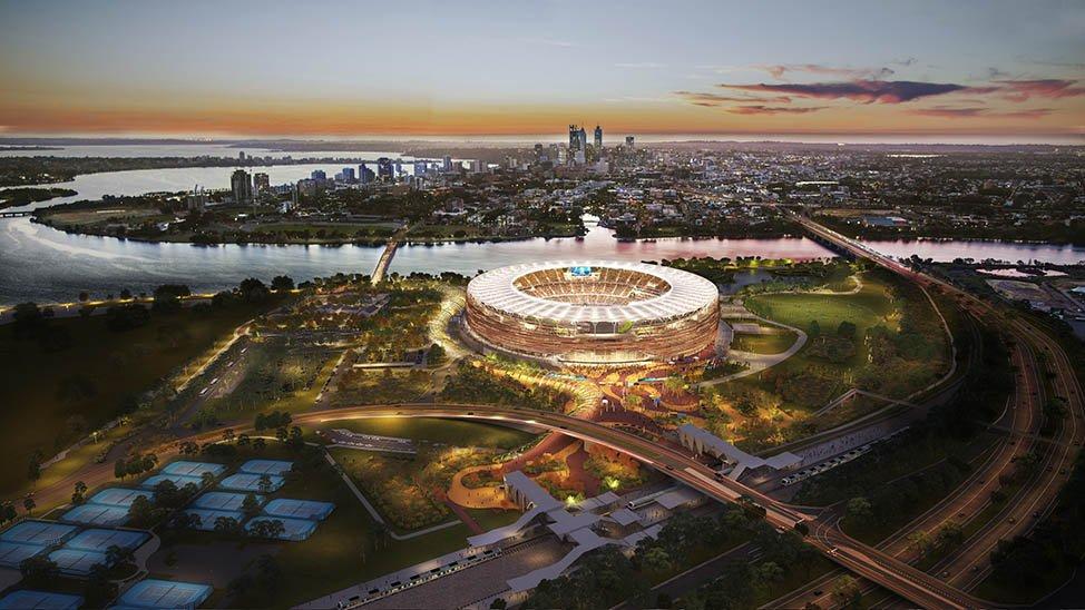 Design Optus Stadium StadiumDB