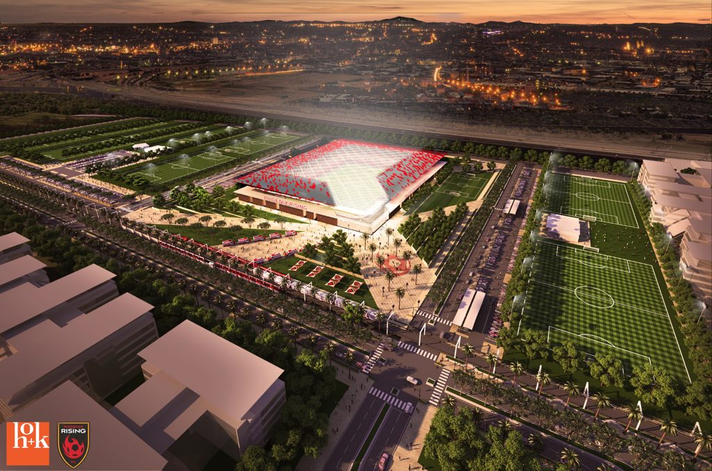 Design Phoenix Mls Stadium Stadiumdb Com