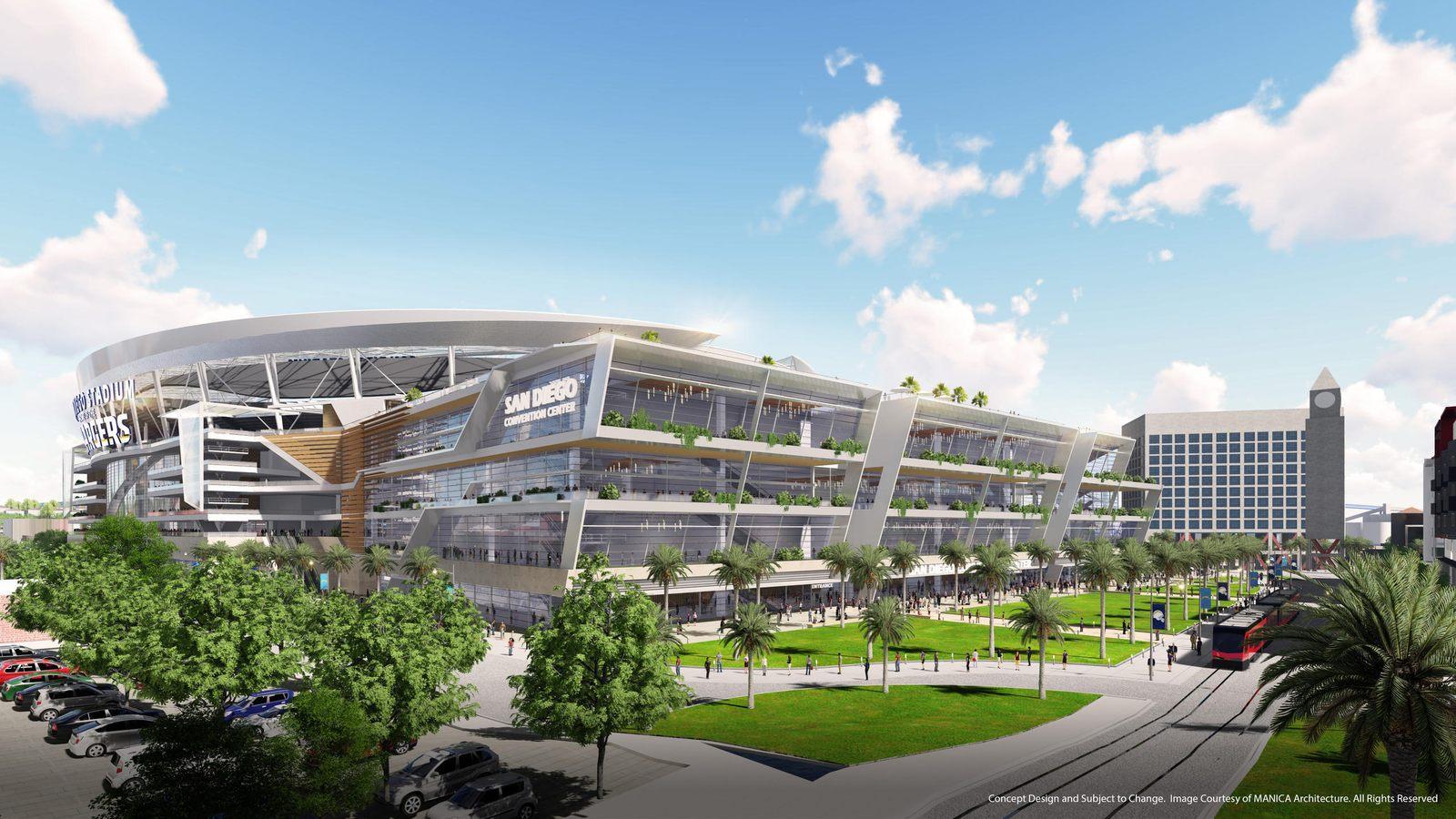 Design San Diego Stadium Stadiumdb Com