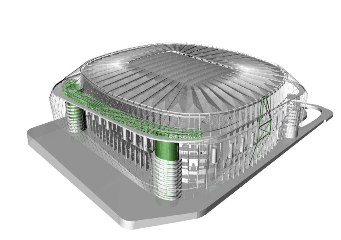 Design Estadio Santiago Bernab 233 U Stadiumdb Com