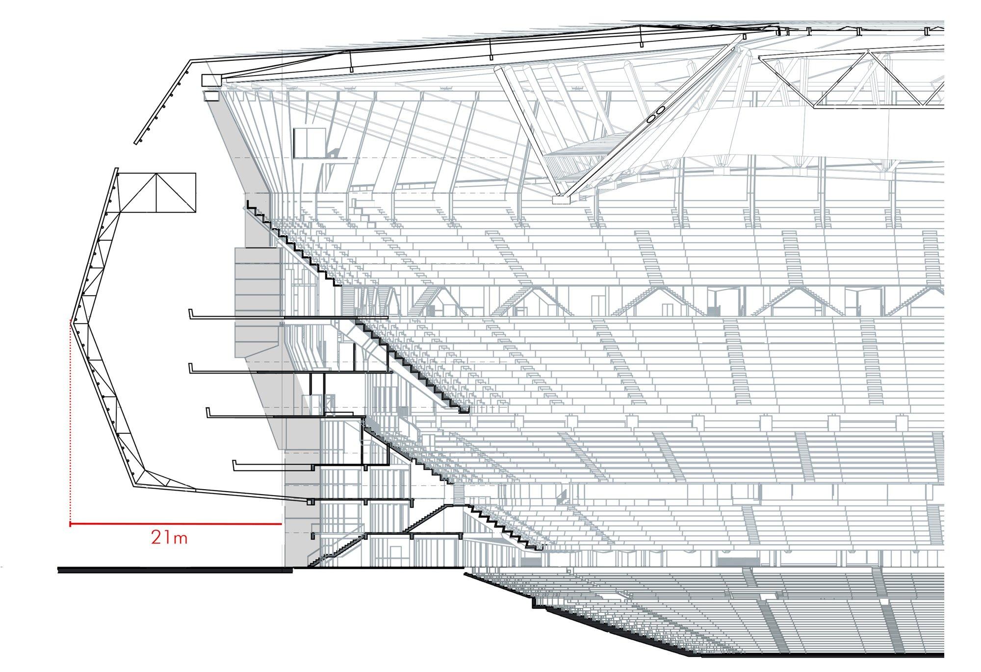 Design estadio santiago bernabu stadiumdb description estadio santiago bernabu malvernweather Images