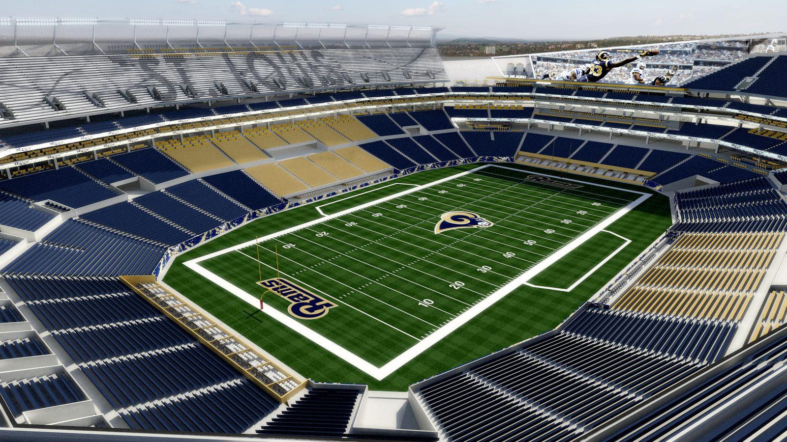Design St Louis Nfl Stadium Stadiumdb Com
