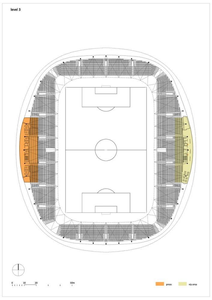 2010 © OFIS Arhitekti · Borisov Arena