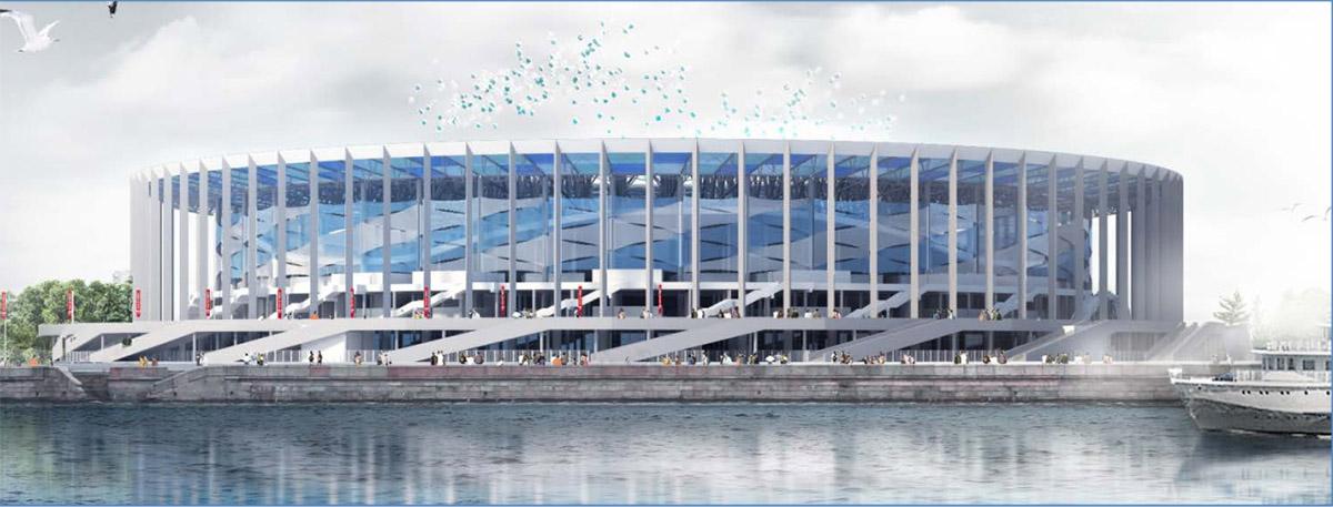 NİZHNY NOVGOROD stadı ile ilgili görsel sonucu