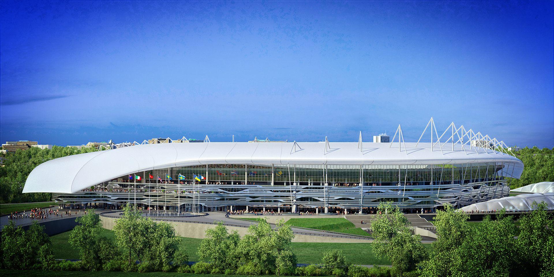 Design: Stadion Rostov – StadiumDB com