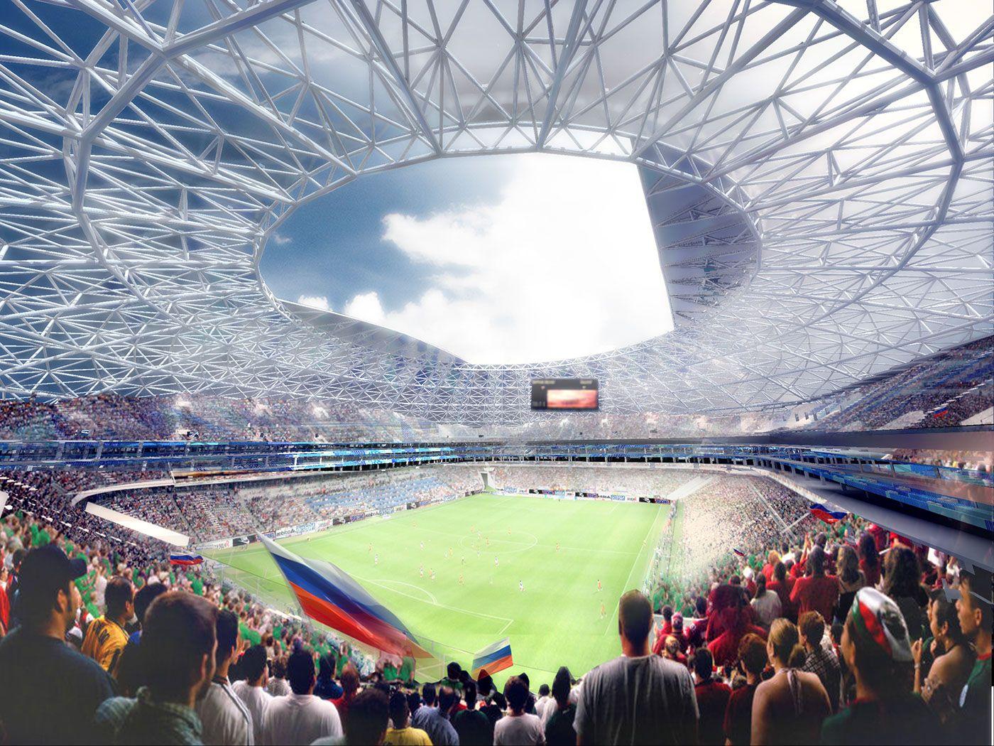 Design: Samara Arena - StadiumDB.com