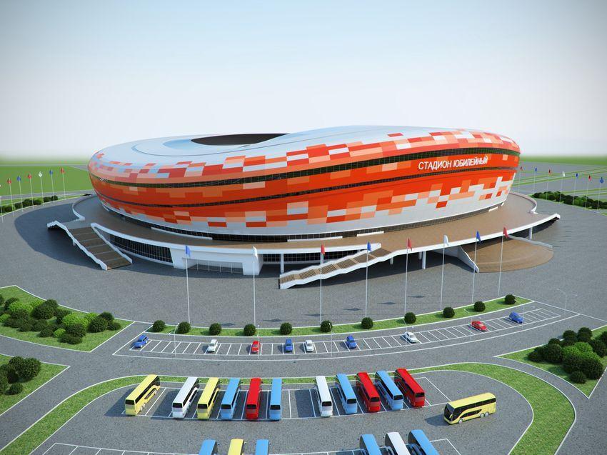 Saransk Russia  city photo : Mordovia Arena Stadion Yubileyniy Saransk