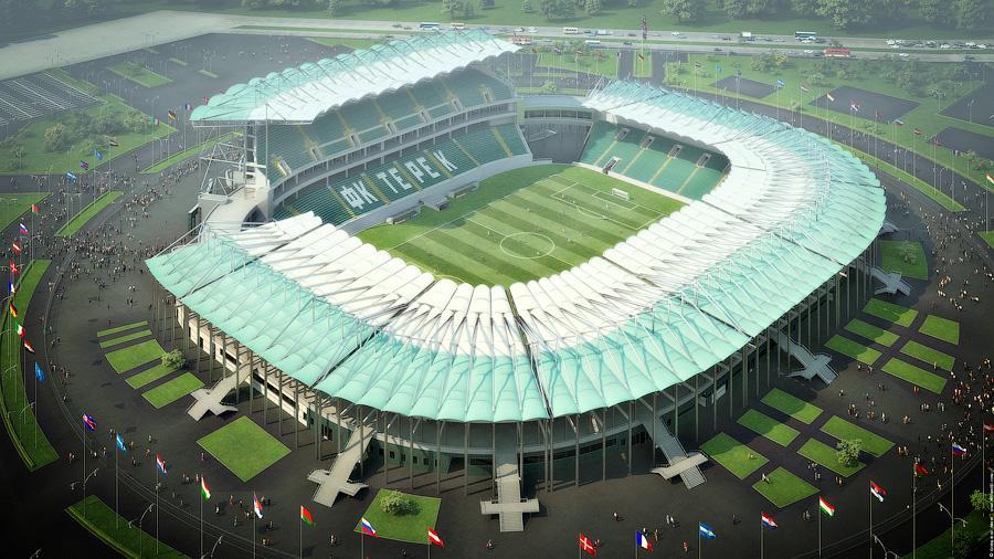 Design Stadion Terek Stadiumdb Com