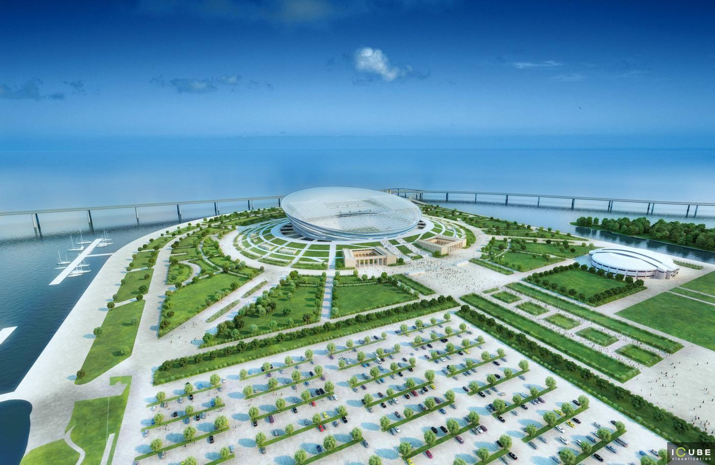 Design Stadion Zenit Stadiumdb Com