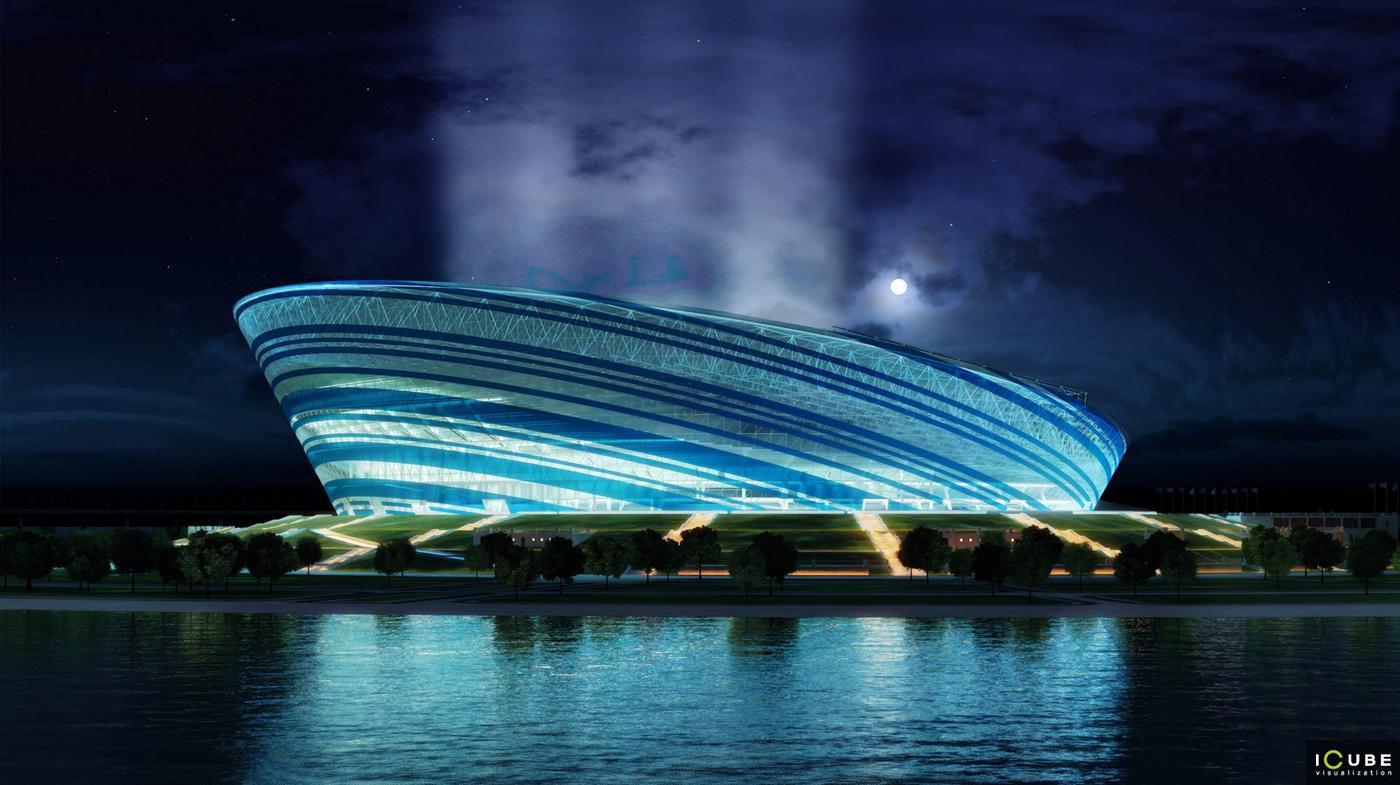 Design: Stadion Zenit – StadiumDB.com