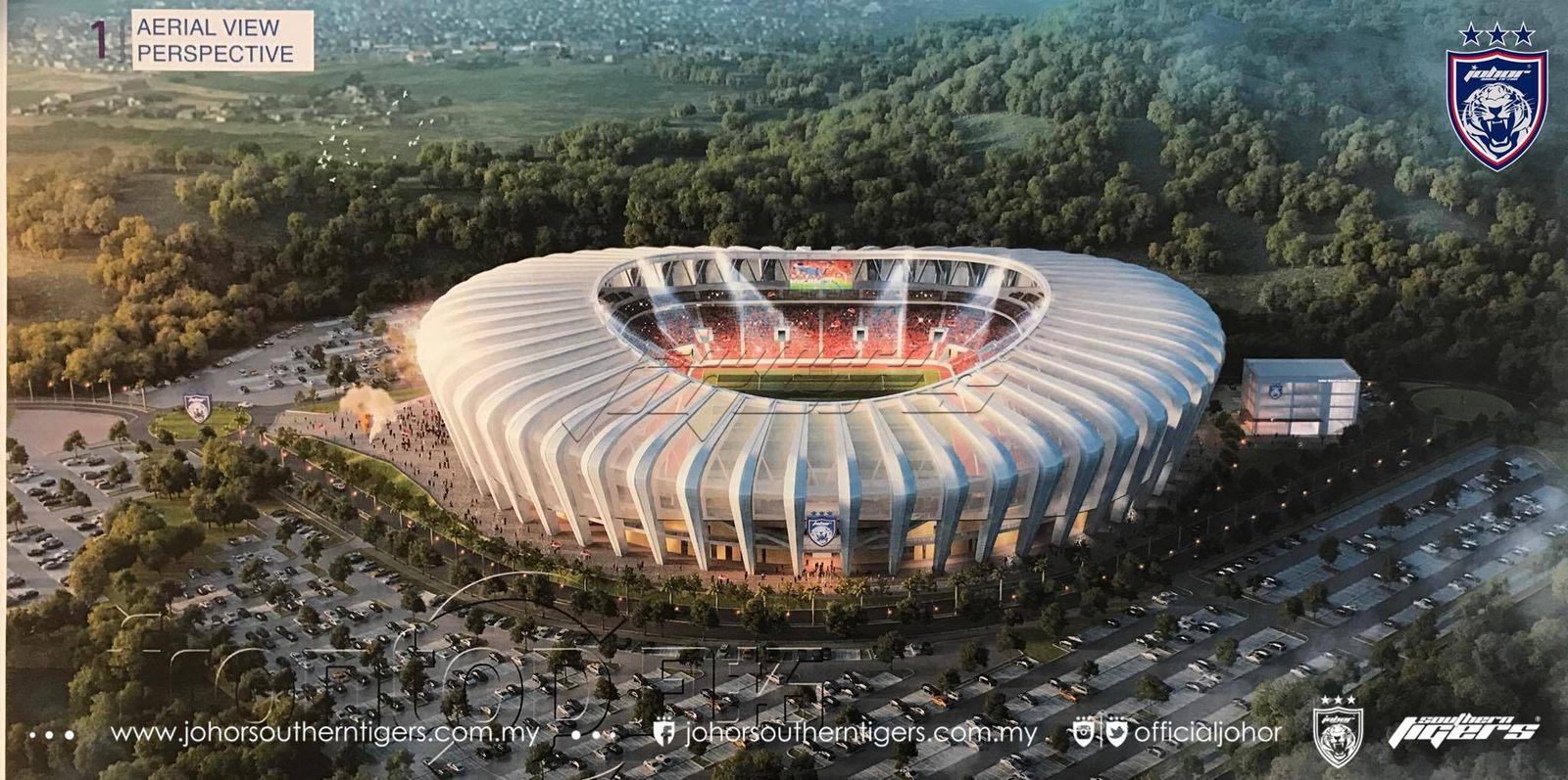 ... Sultan Ibrahim Larkin Stadium