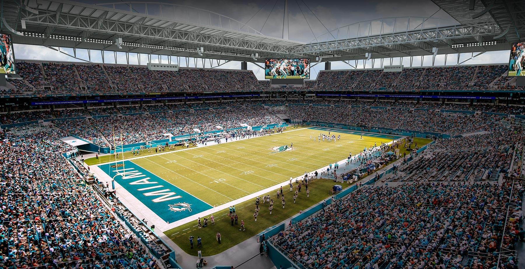 Exceptional 2015 © 360 Architecture / Miami Dolphins · Hard Rock Stadium Home Design Ideas