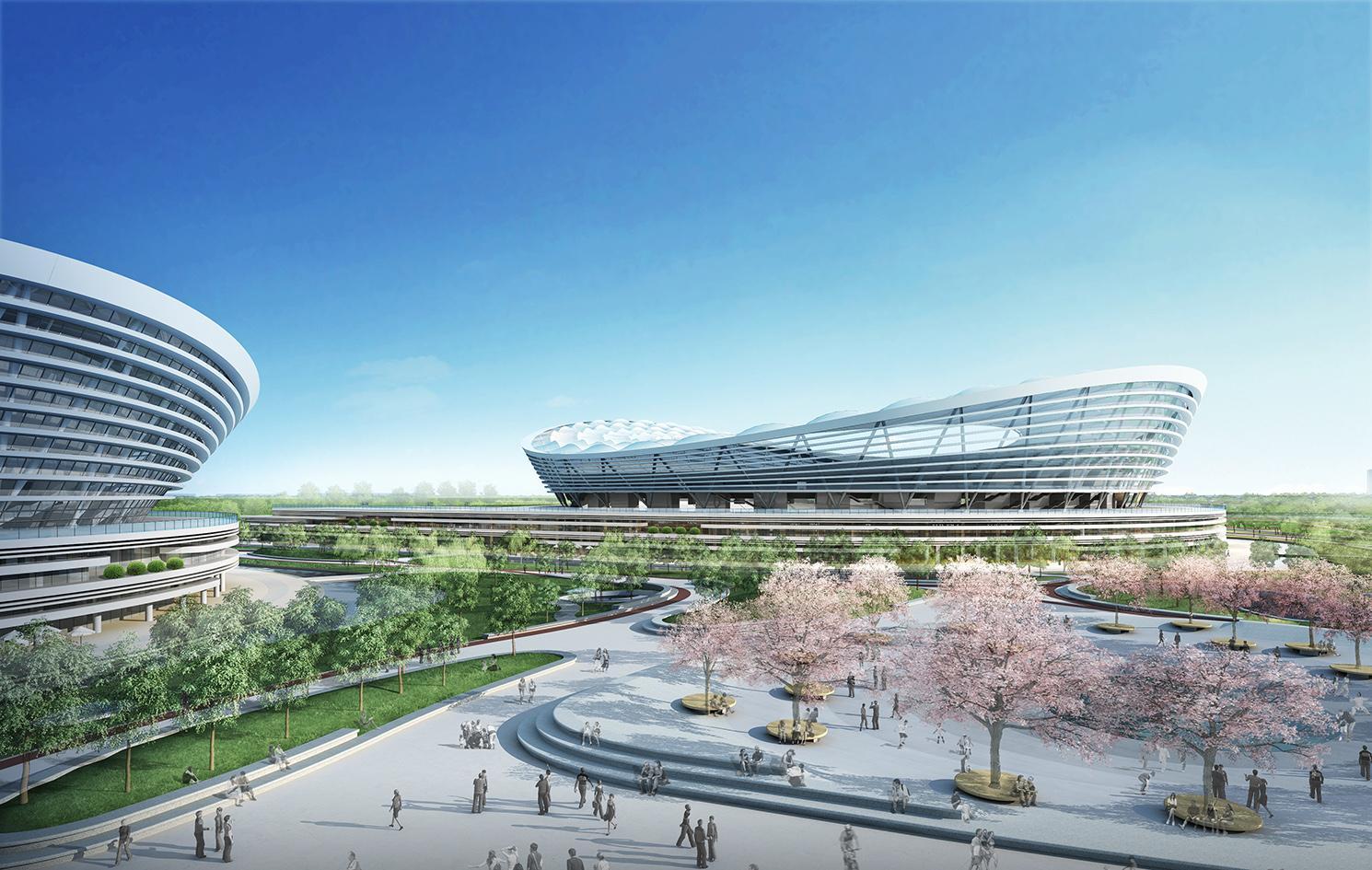 Design suzhou olympic sc stadium - Gmp architektur ...