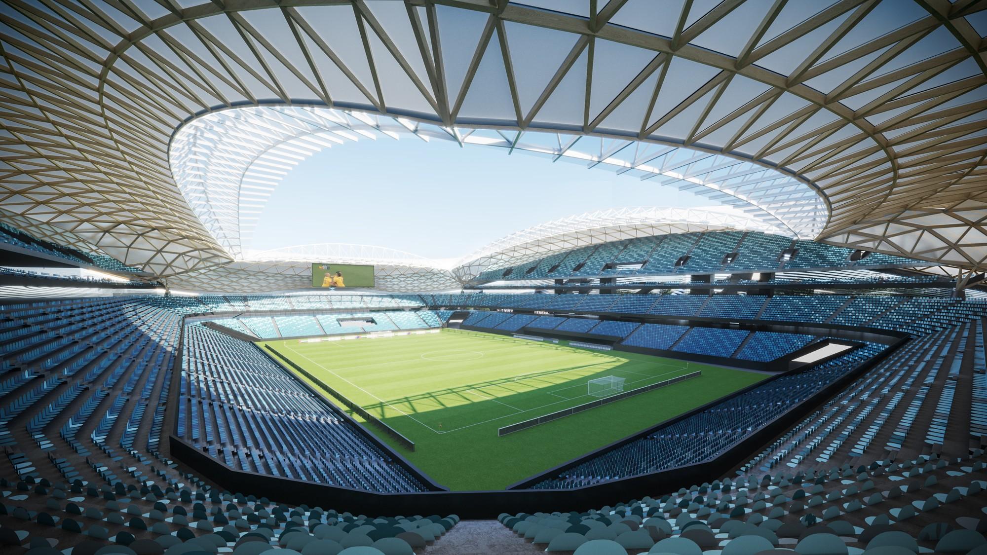 Design Sydney Football Stadium Stadiumdb Com