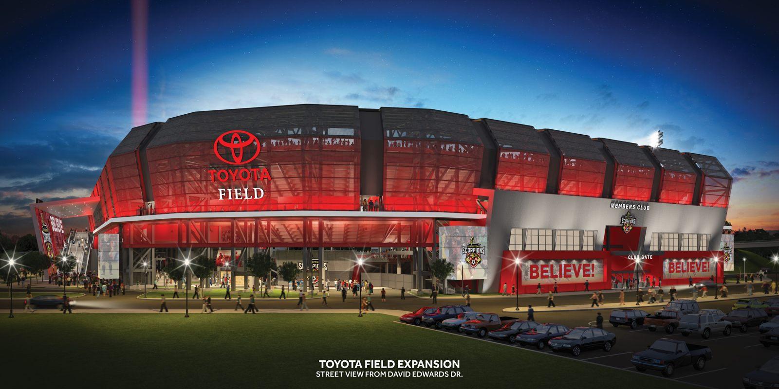 Toyota San Antonio >> Design: Toyota Field – StadiumDB.com
