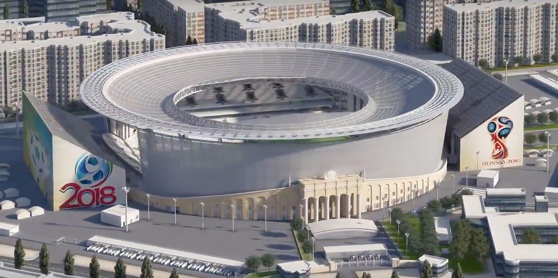 """Résultat de recherche d'images pour """"La Ekaterinbourg arena"""""""