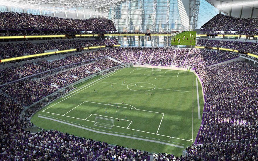 Design U S Bank Stadium Stadiumdb Com