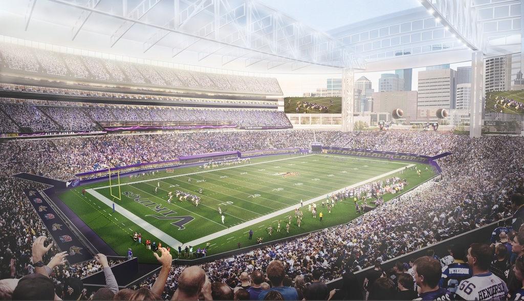 Design Vikings Stadium Iii Stadiumdb Com