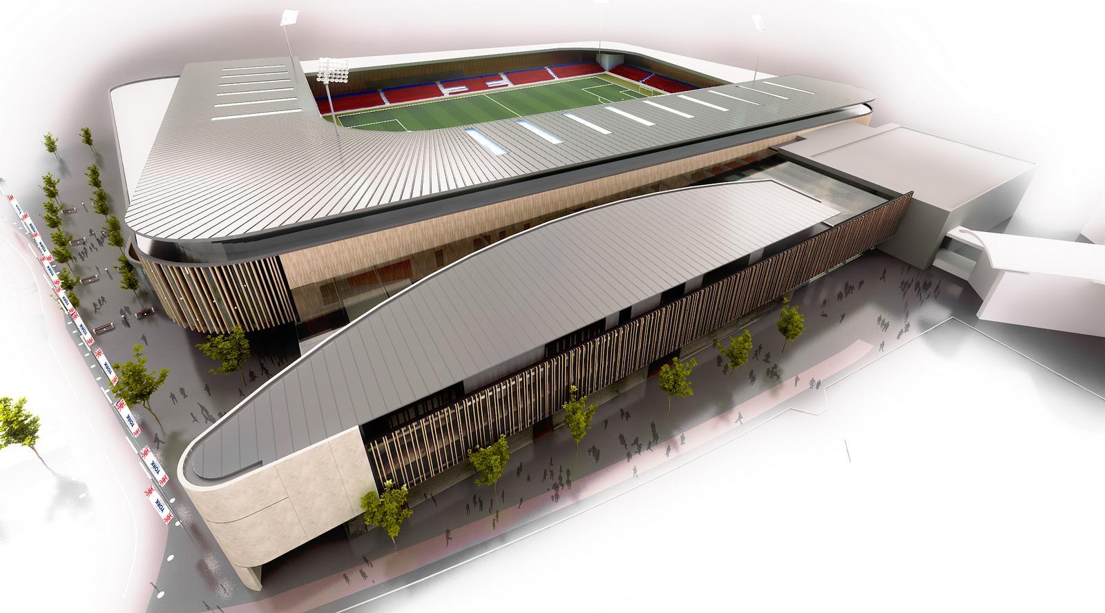 Madison Square Garden: Design: York Community Stadium