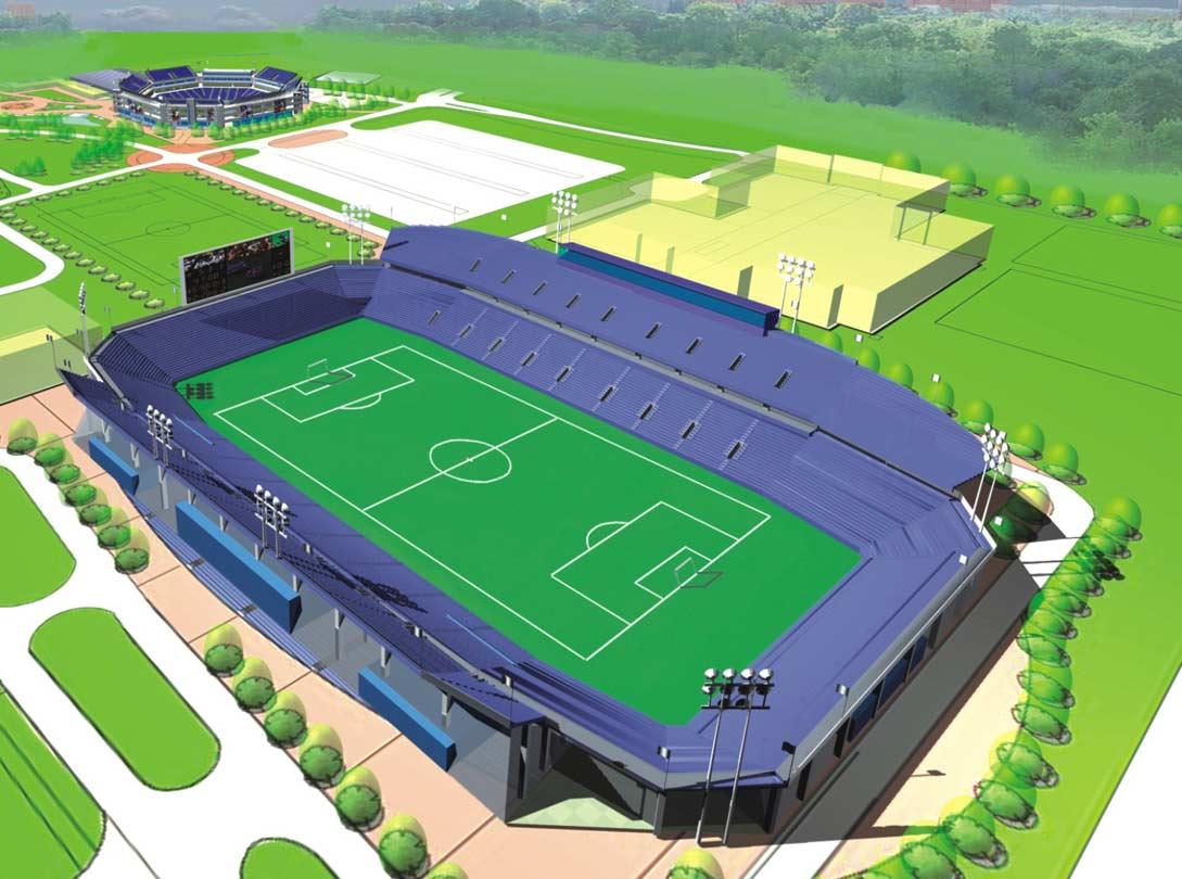 Design: StadiumDB.com Stadium – University York