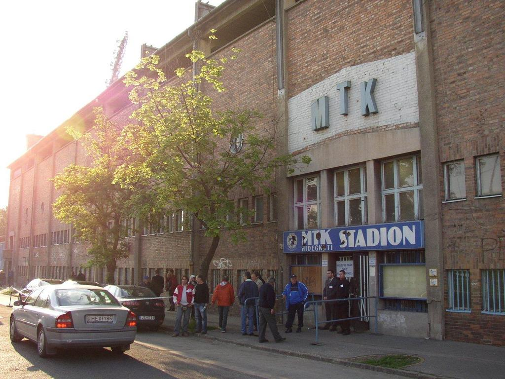 Historical Hidegkuti Nándor Stadion MTK Budapest Stadion