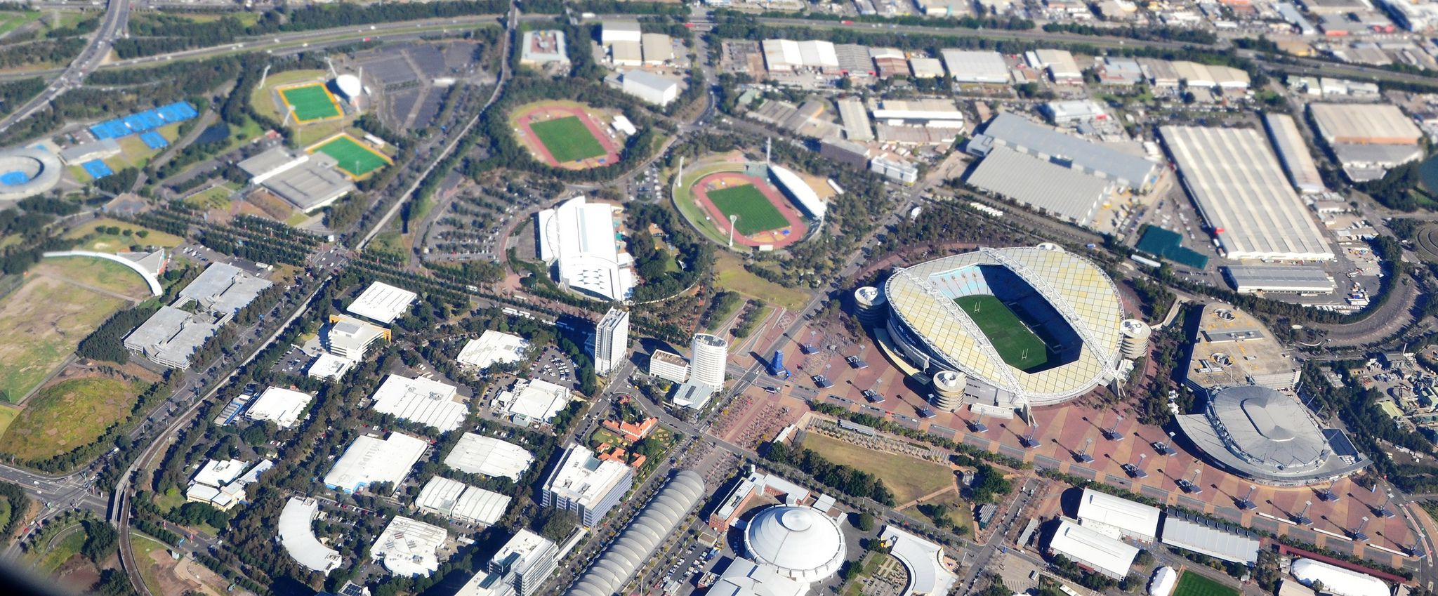 Sydney Olympic Park Athletic Centre Stadiumdb Com