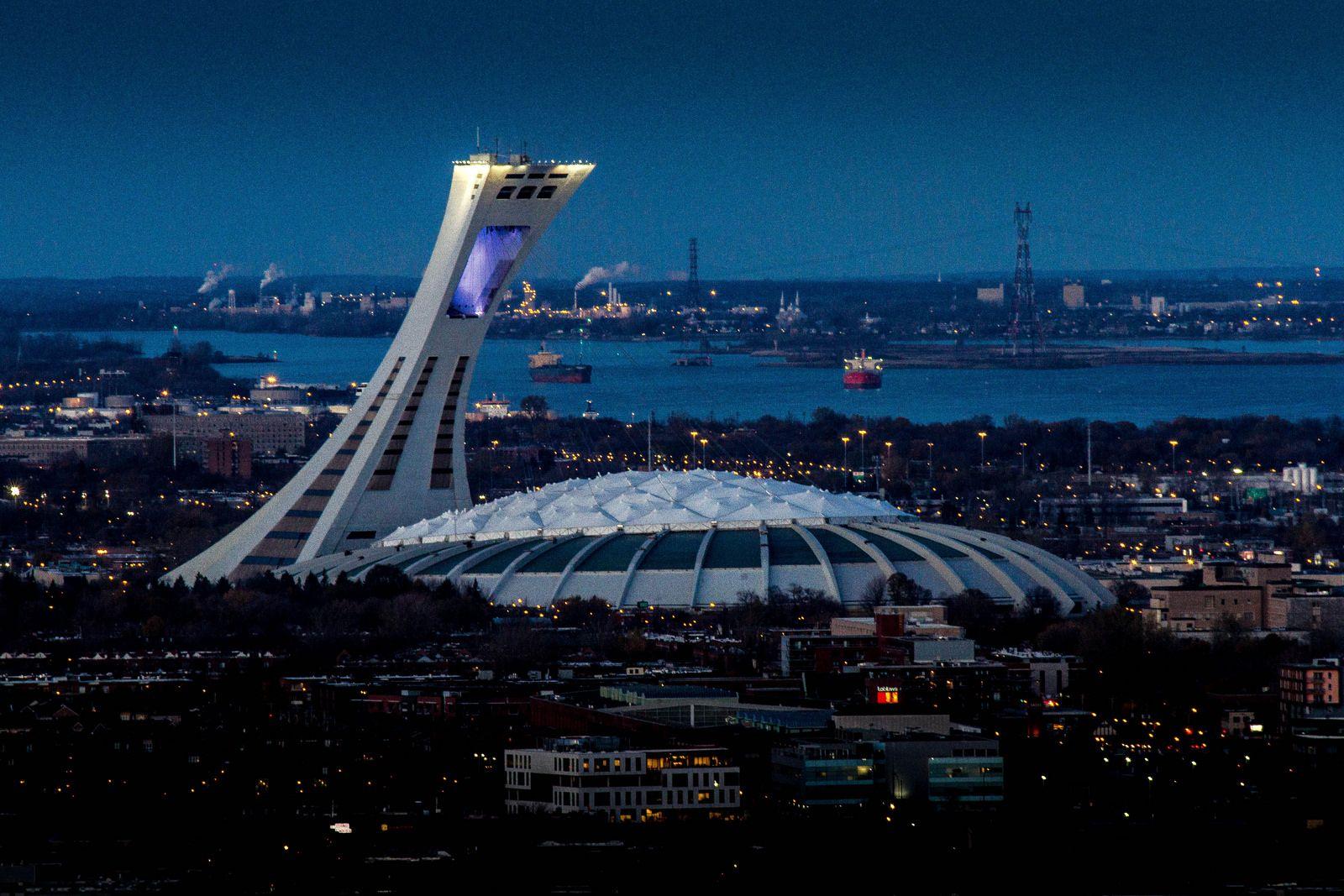 Olympic Stadium The Big O Stadiumdb Com