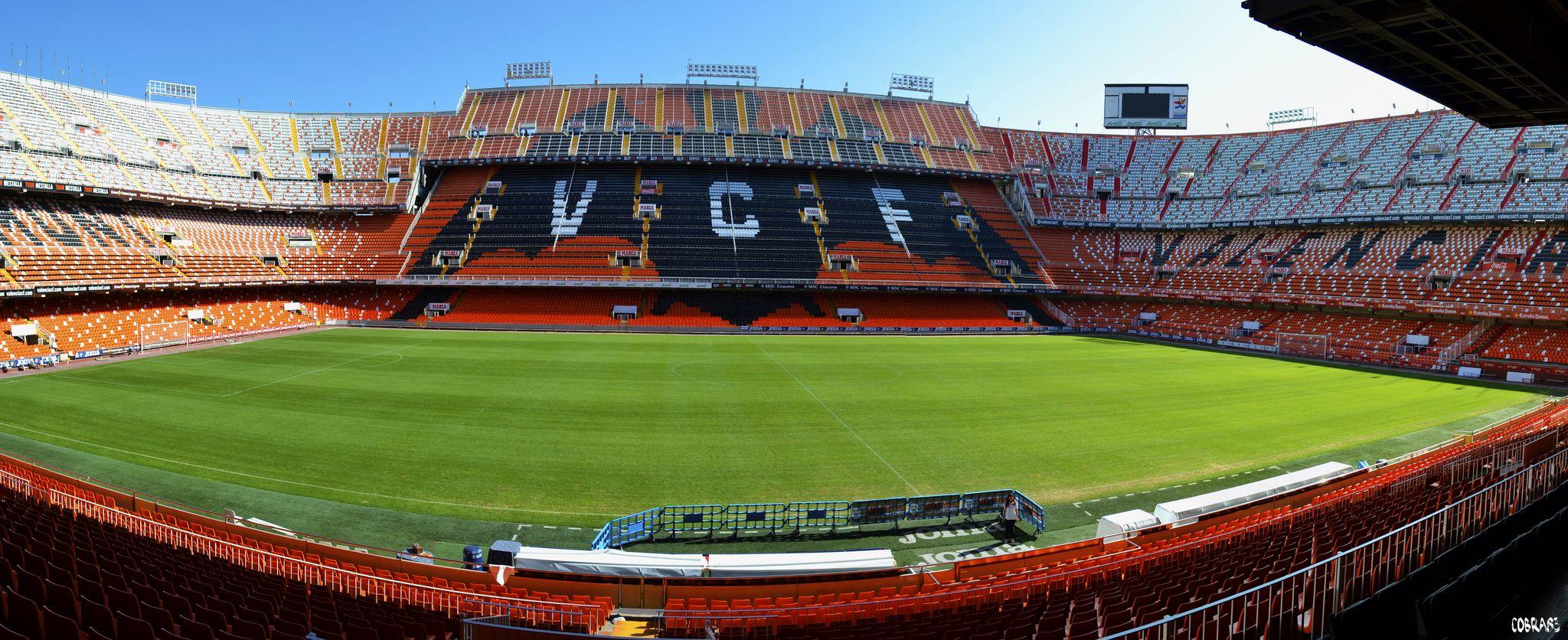 Mestalla camp del val ncia - Campo de futbol del valencia ...