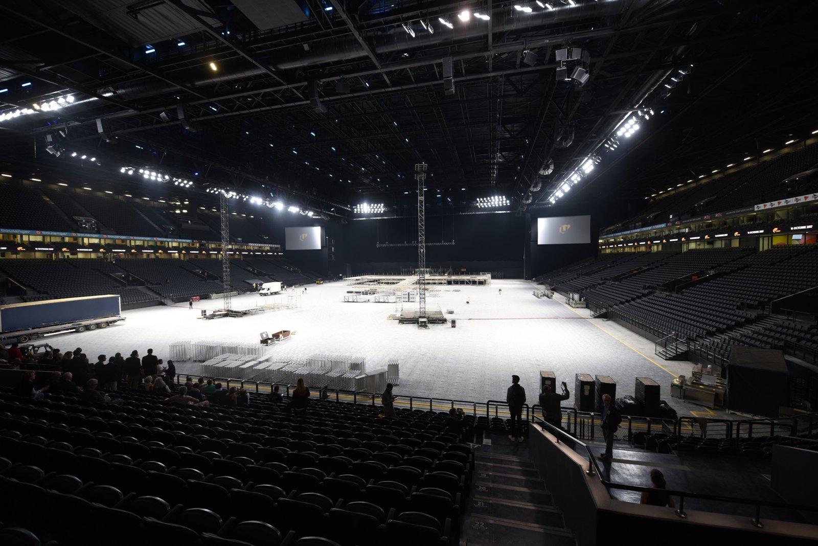 u arena On interieur u arena