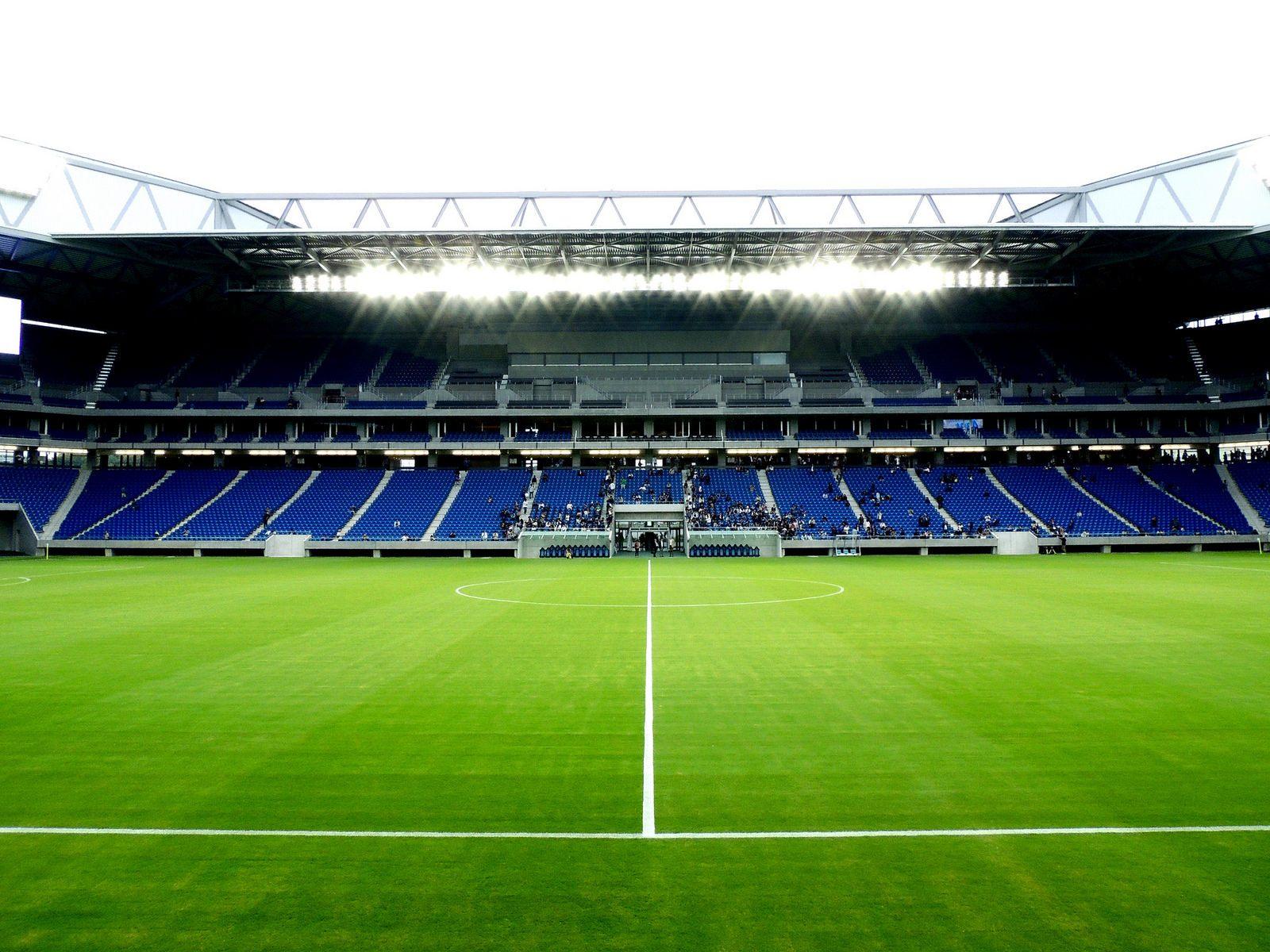 suita city football stadium gamba osaka stadium stadiumdb com