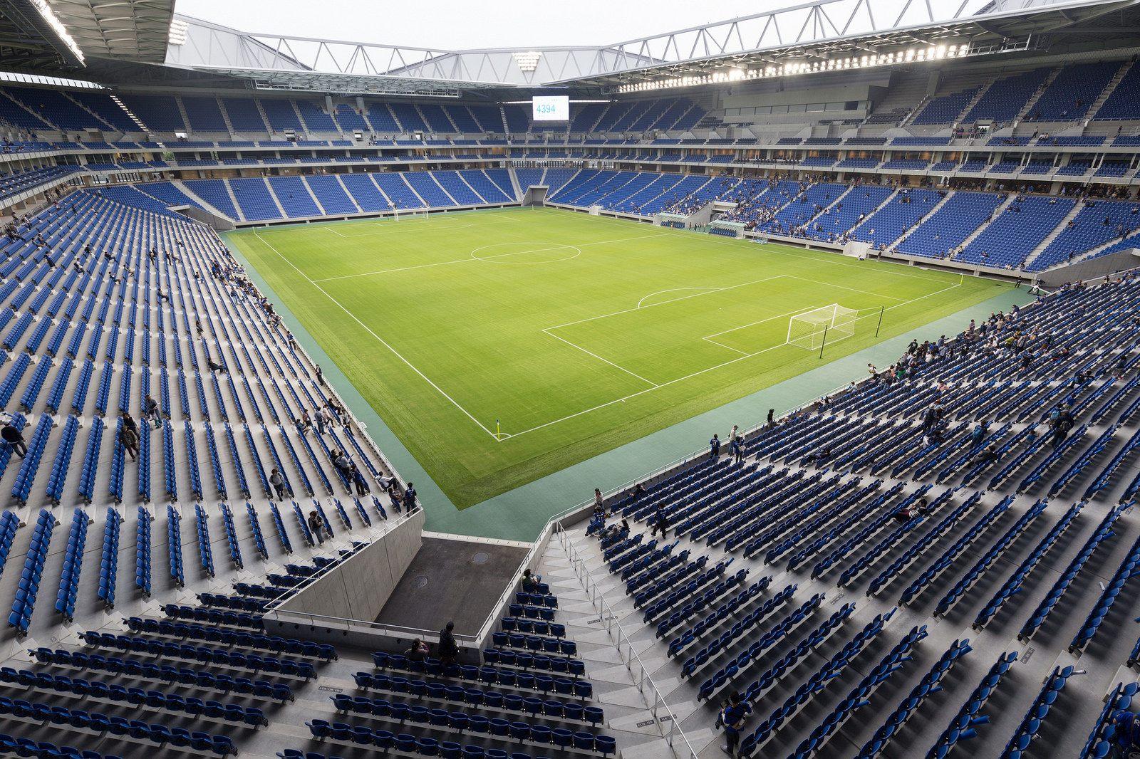 How Long Is A Football Pitch >> Suita City Football Stadium (Gamba Osaka Stadium) – StadiumDB.com
