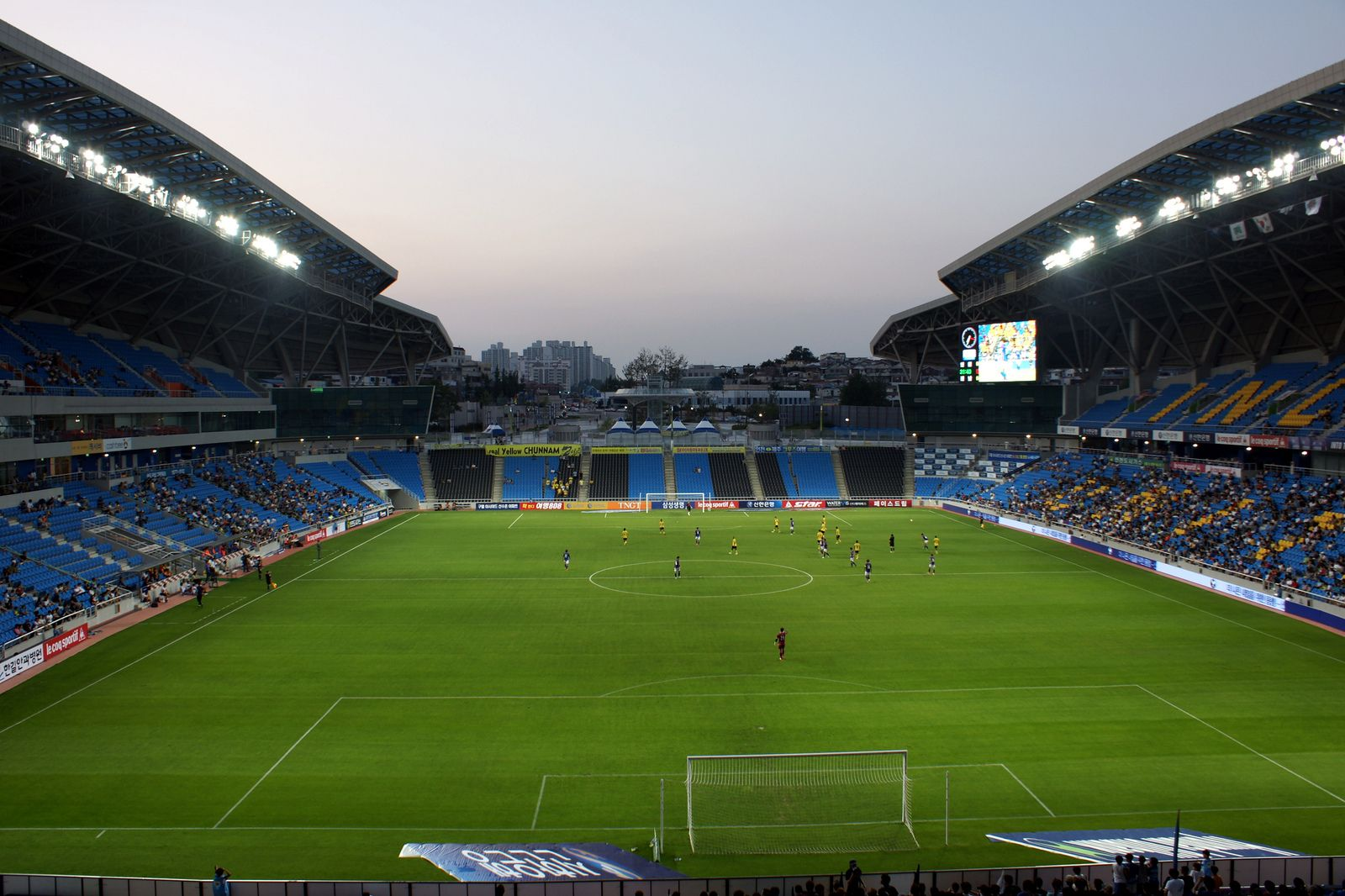 incheon football stadium  sungui arena park   u2013 stadiumdb com