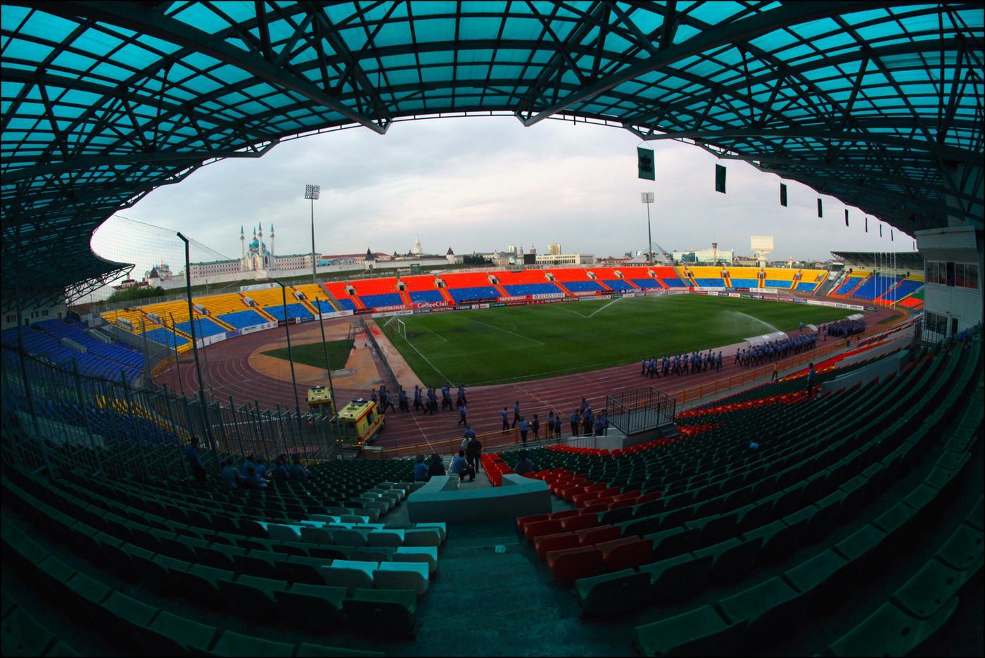 Central Stadium, Kazan: history, address and capacity 52