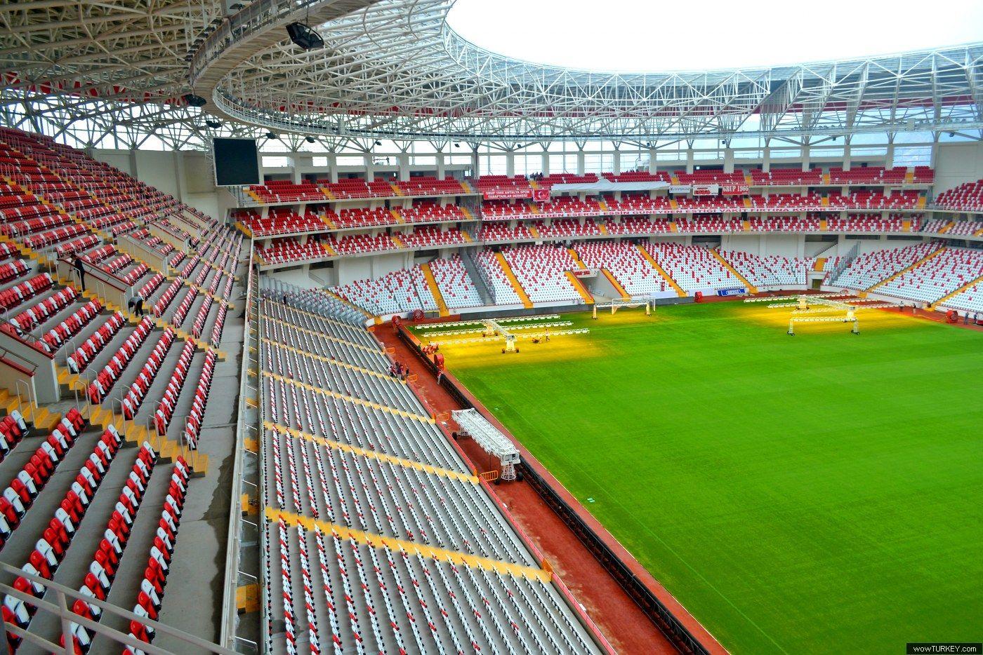 ผลการค้นหารูปภาพสำหรับ Antalya Atatürk Stadium
