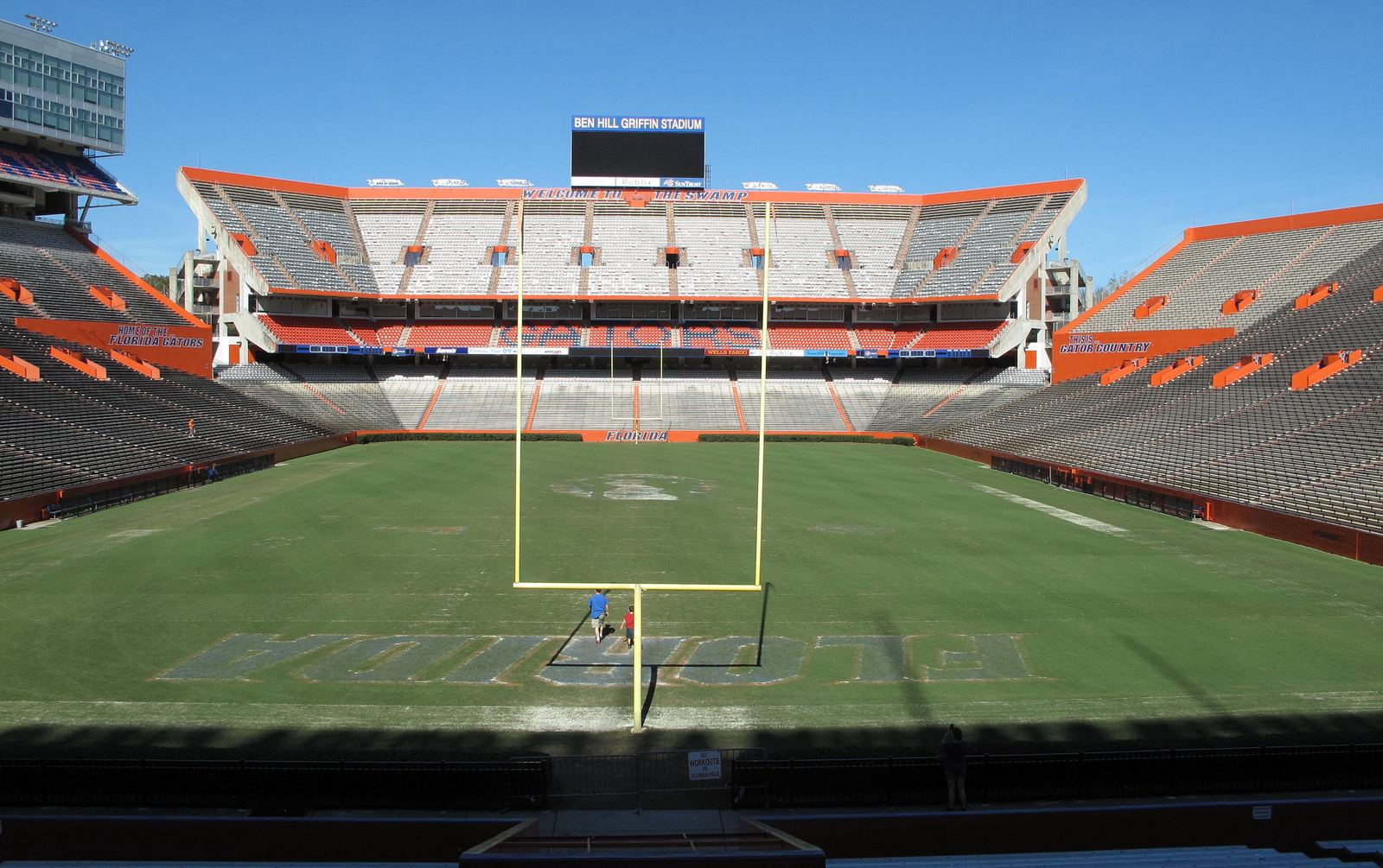 Ben Hill Griffin Stadium The Swamp Stadiumdb Com