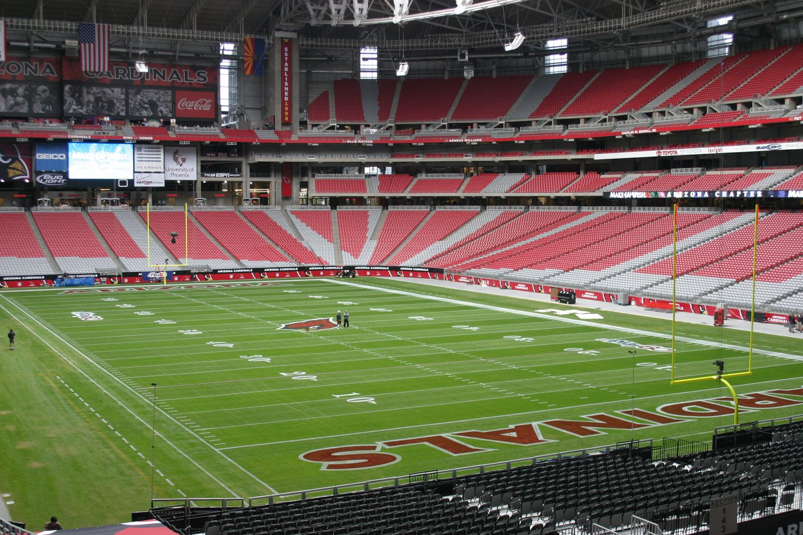 University of phoenix stadium for The glendale