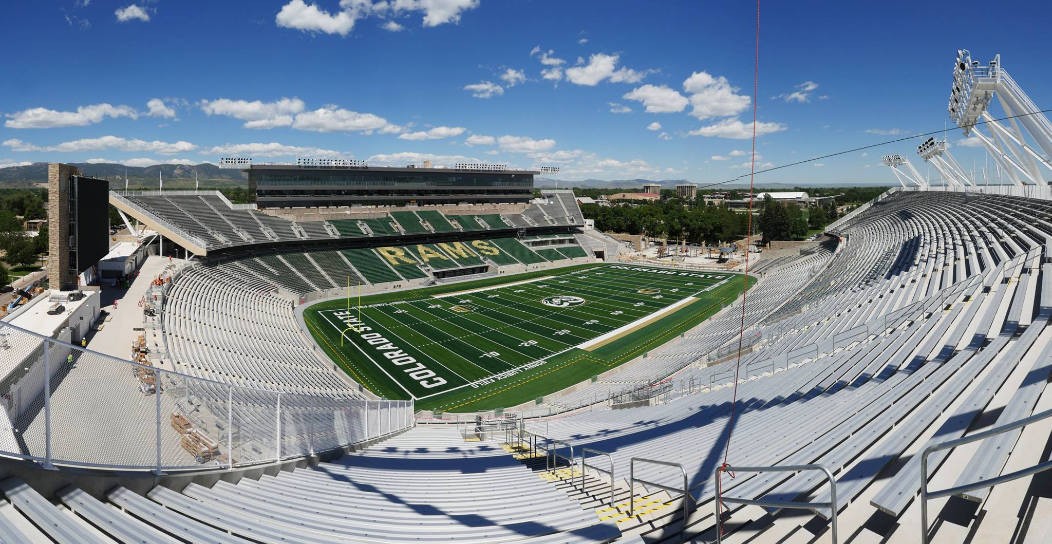 Canvas Stadium Sonny Lubick Field At Colorado State