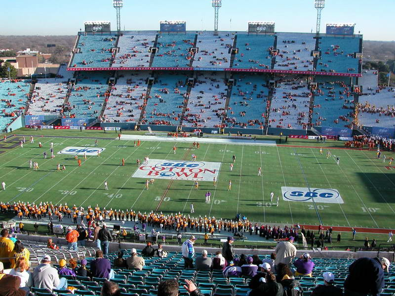 Cotton Bowl Stadiumdb Com
